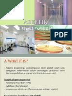 Aseptic Dispensing Ppt