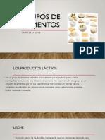 Grupos de Alimentos(Lacteos)