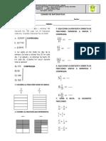 Examen Final de Matematicas 2018