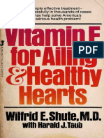 Vitamin E book  for Ailing and Healthy Hearts  - Wilfrid Shute pdf [Orthomolecular Medicine]