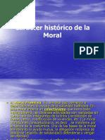 Carácter Histórico de La Moral