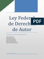 Ley Federal de Derechos de Autor Corregida