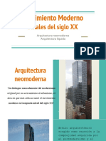 arquitectura neo moderna y liquida