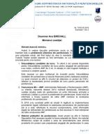Adresa FSANP Probleme Penitenciare 02052019