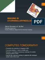 Imaging in Otorhinolaryngology