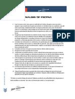Analisis de Escena, Accion y Personaje.