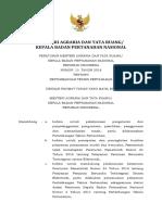 Permen No 15 Tahun 2018_Pertimbangan Teknis Pertanahan