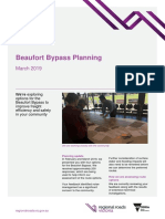 Beaufort Bypass Planning Information Bulletin March 2019