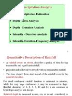 Preceipitation analysis
