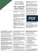 02 the Gospel of Jesus Christ