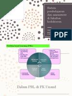 2018 Sistem Pembelajaran Dan Assessment Di Fakultas Kedokteran
