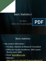 Psychological Statistics - handwritten notes pdf