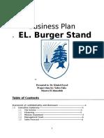 El Burger Stand. Special Topic Project