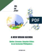 Habitat III - Philippine National Report