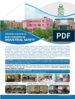 Report on how to do a career in Industrial Safety.