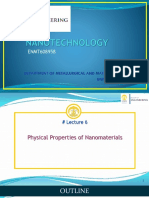 ENMT608958-Nanotechnology - Physical Properties of Nanomaterials