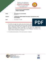 CIPC Memorandum List of Winners (1)