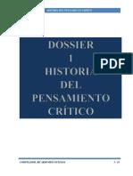 1 Dossier 1 Historia Pensamiento Critico