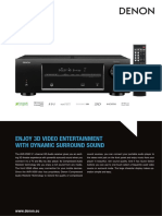 Dn Avr-x500 Productinfo PDF v2 en 090413