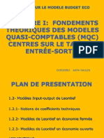 COURS GPE 2010 Cours Modele Budget Eco II