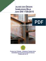 Analisis dan Desain Sambungan SNI 1729 2015.pdf