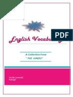 English Voc