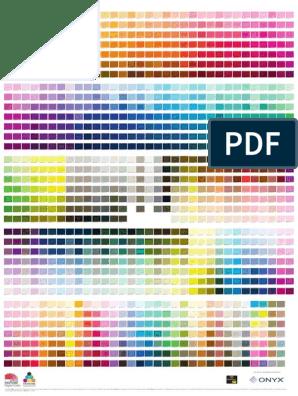 PANTONE-Uncoated pdf   Yellow   Magenta