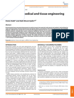 Polymers for Medical and Tissue Engineering Applications
