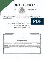 Acuerdo Procedimiento de Calculo y Distribucion de Participaciones Fiscales