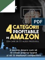 4 Categorii Profitabile Pe Amazon Din Care Sa Ti Alegi Produsul