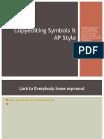 Copyediting Symbols and AP Style