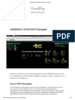 Aprende a usar wifi pineapple