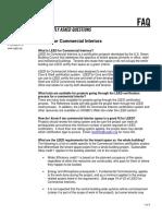 FAQ Commercial Interior
