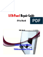 Lcd Panel Repair Guide (T-con Board)