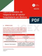 Oportunidades de negocio en el sector hospitalario en Bolivia