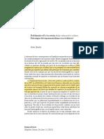 """""""Problemática 63 y la revista Aulas- educación y cultura. Estrategias del experimentalismo tras el silencio"""" - Iñaki Estella"""