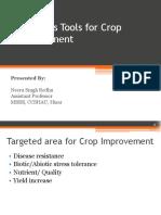 Genomic Tools for Crop Improvement