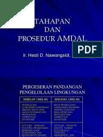 Prosedur Dan Tahapan AMDAL