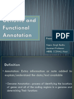 Genome Functional Annotation