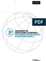 Insurance in Developing Countries