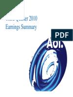 Request-AOL Q3 2010 Earnings Presentation