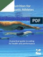 Nutrition for Aquatic Athletes Booklet v5 Final