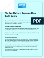 The App Market is Becoming More Profit Centric