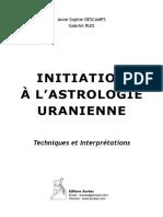 Initiation à l'Astrologie Uranienne (Extraits)