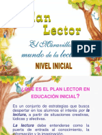 Plan Lector de Inicial