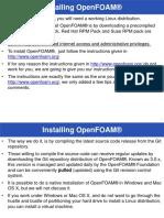 OpenFoam Installation