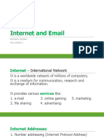 Internet and Email