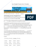 Engexam.info-CAE Reading and Use of English Practice Test 1 Printable