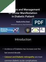 2. Diagnosis and Management of Ocular Manifestation in Diabetic Patients - Dr. Dr. Nadia Artha Dewi, SpM(K)