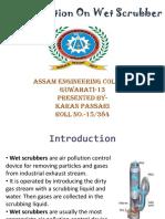 presentation on wet scrubber